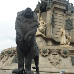 voyage-barcelone-2010-lion-port-barcelone