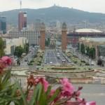 voyage-barcelone-2010-vue-montjuic-place-espagne