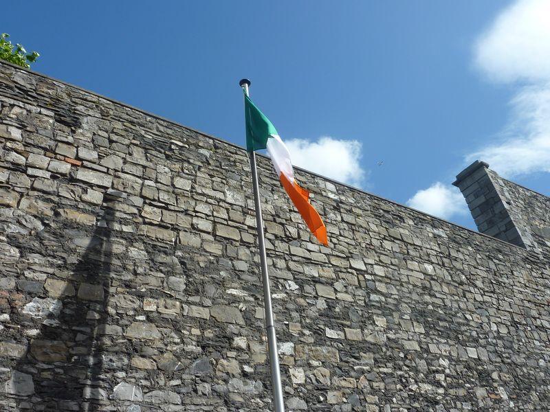 dublin-prison-kilmainham-gaol-drapeau-irlandais